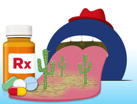 Medication is the number one cause of dry mouth.